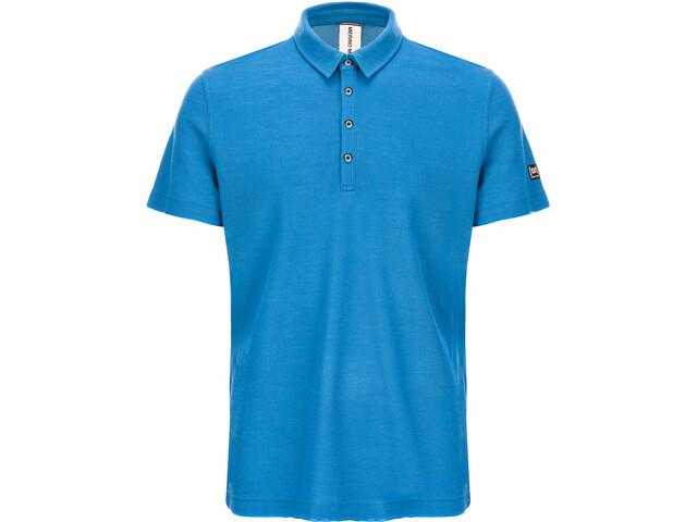 super.natural Piquet Polo Hombre, vallarta blue
